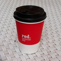 Photo taken at Red. Espresso Bar by Yana I. on 9/14/2012