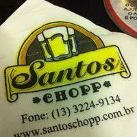 Foto tirada no(a) Santos Chopp por Thaís Helena D. em 12/19/2012