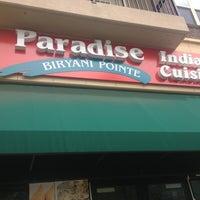 Photo taken at Paradise Biryani Pointe by Laura B. on 8/9/2013