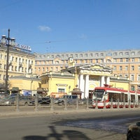 Photo taken at Sennaya Square by Светлана on 3/22/2013