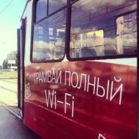Photo taken at Трамвай №100 by Светлана on 8/26/2013