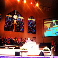 Photo taken at North Cleveland Church of God by Joseph D. on 9/30/2012
