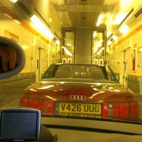 Photo taken at Eurotunnel Victor Hugo Terminal by Scott W. on 7/7/2013