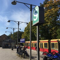 Photo taken at S Schlachtensee by William T. on 10/3/2015