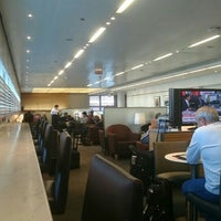 Photo taken at United Club by William T. on 4/26/2015