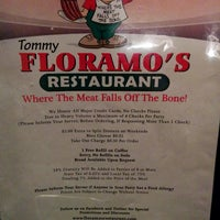 Photo taken at Floramo's Restaurant by William T. on 5/22/2014