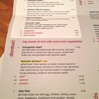 Photo taken at wagamama by William T. on 4/17/2013