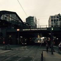 Photo taken at Berlin Friedrichstraße Railway Station by William T. on 6/28/2015