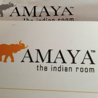 Photo taken at Amaya - The Indian Room by Alli F. on 8/24/2013