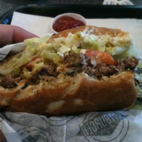 Photo taken at Fatburger by Alain M. on 1/4/2013