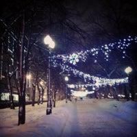 Снимок сделан в Никитский бульвар пользователем Татьяна Б. 2/1/2013