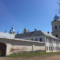 Photo taken at Коневецкий монастырь by Anastasia K. on 5/8/2016