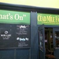 รูปภาพถ่ายที่ McMullan's Irish Pub โดย Ryan G. เมื่อ 3/19/2013