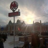 Снимок сделан в Метро «Площадь Ленина» пользователем Alexander M. 2/26/2013