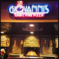 Photo taken at Giovanni's Coal Fire Pizza by Chad C. on 4/7/2013