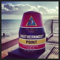 Photo taken at Southernmost Point Buoy by Chad C. on 2/10/2013
