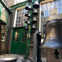 Photo taken at Whitechapel Bell Foundry by Martin D. on 10/15/2016
