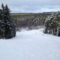Photo taken at Toksovo by Jenya B. on 2/16/2013