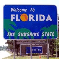Photo taken at Florida / Georgia State Line by Alison C. on 9/11/2013