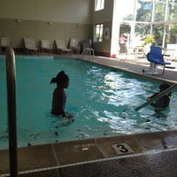 Photo taken at Clubhouse Oakbrook Inn & Suites by Justina G. on 7/24/2013