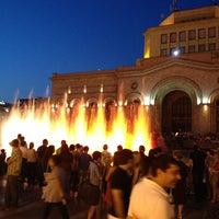 Снимок сделан в Площадь Республики пользователем Marusik y. 6/13/2013