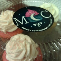 Photo taken at Midnight Confection Cupcakery by Tasha M. on 8/2/2013