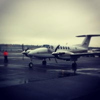 Photo taken at DHL BFX (Boeing Field) by Mike P. on 4/7/2013