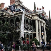 Photo taken at Haunted Mansion by Nessie on 10/7/2012
