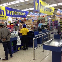 Photo taken at Hypermart by Rakhman M. on 9/27/2016
