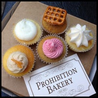 Photo taken at Prohibition Bakery by Cupcake Crusaders on 11/27/2012