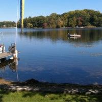 Photo taken at Saddle Lake by Kristy V. on 9/29/2012