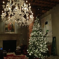 Photo taken at Gramercy Park Hotel by Angela S. on 11/28/2012