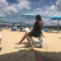 Photo taken at Plage de l'Horloge / Clocktower Beach by Angela S. on 5/27/2017