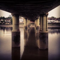 Photo taken at Kew Railway Bridge by James G. on 6/19/2013