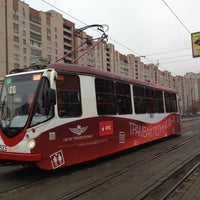 Photo taken at Трамвай №100 by Gennady B. on 4/20/2013
