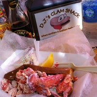 Photo taken at D.J.'s Clam Shack by Jonathan I. on 5/18/2013