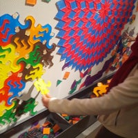 Photo taken at Museum of Mathematics (MoMath) by Larry M. on 5/25/2013