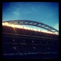 Foto tomada en Estadio de San Mamés por Rakel F. el 12/9/2012