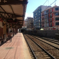 Photo taken at Estacion Renfe Barakaldo by Rakel F. on 3/20/2013