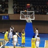 Photo taken at Yoyogi 2nd Gymnasium by やすこ な. on 1/3/2013