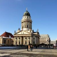 Das Foto wurde bei Gendarmenmarkt von Christoph D. am 3/13/2013 aufgenommen