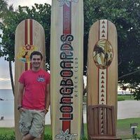 Photo taken at Longboards Beach Club by Jarett S. on 8/14/2013
