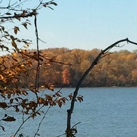 Photo taken at Eagle Creek Park by Adrienne on 10/21/2012