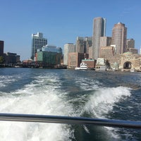 Photo taken at Boston Harbor Water Taxi by Adrienne on 9/3/2014