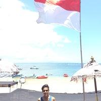Photo taken at Tanjung Benoa Beach by Syafiq J. on 10/27/2016