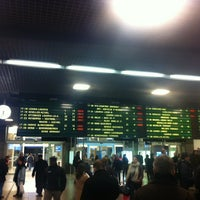 Photo taken at Brussels-South Railway Station (ZYR) by gilles N. on 1/29/2013