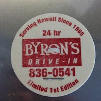 Photo taken at Byron's Drive-In by Melissa C. on 2/27/2013