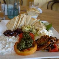 Photo taken at Café des Amis by Melissa C. on 3/9/2014