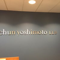 Photo taken at Chun & Yoshimoto LLP by Melissa C. on 4/16/2013