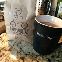 Photo taken at Lamplighter Roasting Co. by Lindsey C. on 3/22/2013